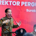 Pertemuan Majelis Rektor PTN, Presiden Jokowi: Kembangkan Talenta Mahasiswa