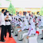 Dialog Bersama Presiden, Pelajar Ungkap Kegembiraan Bisa PTM