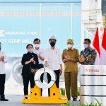 Presiden Minta Krakatau Steel Penuhi Kebutuhan Dalam Negeri