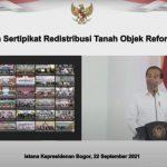 Presiden Tegaskan Komitmen Penuh Pemerintah untuk Berantas Mafia Tanah