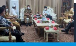 Wali Kota Audiensi dengan Kemenag dan Ponpes Nabi Husain