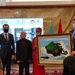 Lomba dan Pameran Lukis Persahabatan Indonesia-Kazakhstan Tahun 2021