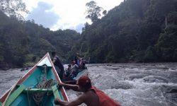 Demi Ikut ANBK, Pelajar di Tau Lumbis Carter Perahu Rp8 Juta ke Mansalong