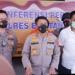 Operasi Antik 2021, Polres Bontang Ringkus 12 Tersangka Penyalahgunaan Narkoba