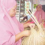 Banjarbaru, Tanaman Liar Bisa Diolah Jadi Anyaman Mahal