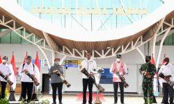 Presiden Joko Widodo Resmikan Terminal Baru Bandara Mopah di Kabupaten Merauke
