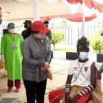 Presiden Pastikan Vaksinasi Merata dari Sabang sampai Merauke
