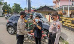 Samarinda PPKM Level 2, Operasi Yustisi Disiplin Protokol Kesehatan Jalan Terus