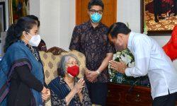 Presiden Melayat ke Rumah Duka Sabam Sirait