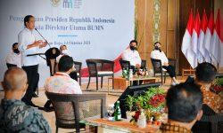 Wujudkan BUMN Go Global, Presiden Minta Adaptasi Teknologi Secepatnya