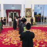 Presiden Jokowi Lantik 17 Duta Besar RI, Ini Daftarnya